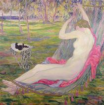 The Hammock by Clementine-Helene Dufau