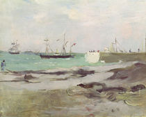 The Entrance to the Port of Boulogne von Berthe Morisot