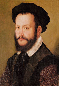 Portrait of a Man with Brown Hair by Corneille de Lyon