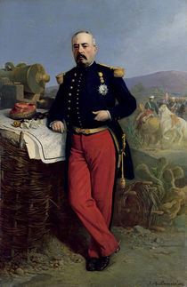 Achille Bazaine 1867 by Jean Adolphe Beauce