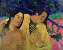 The Flight or Tahitian Idyll by Paul Gauguin