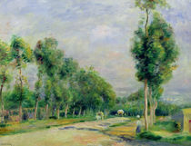 The Road to Versailles at Louveciennes by Pierre-Auguste Renoir