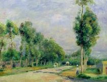 The Road to Versailles at Louveciennes von Pierre-Auguste Renoir
