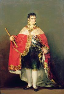 Portrait of Ferdinand VII 1814 von Francisco Jose de Goya y Lucientes