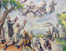 Apotheosis of Delacroix by Paul Cezanne