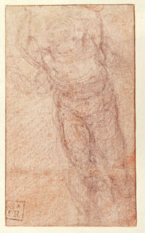 Study for 'The Resurrection' by Michelangelo Buonarroti
