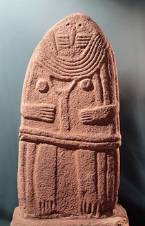 Menhir statue no.4, from Saint-Sernins-sur-Rance by Prehistoric