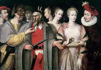 Actors of the Commedia dell'Arte von Francois Bunel