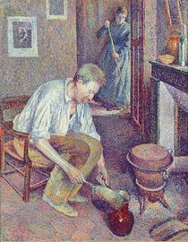 The Coffee, 1892 by Maximilien Luce