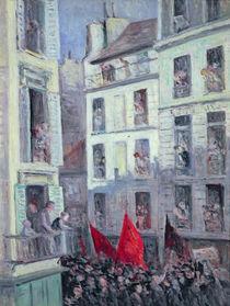 The Popular Front, c.1936 von Maximilien Luce