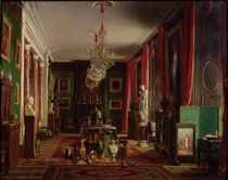 Interior of the Office of Alfred Emilien Count of Nieuwerkerke by Charles Giraud