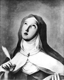 St. Teresa of Avila von Francisco Jose de Goya y Lucientes