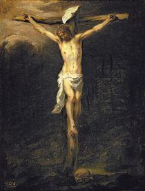 Christ on the Cross, 1672 by Bartolome Esteban Murillo