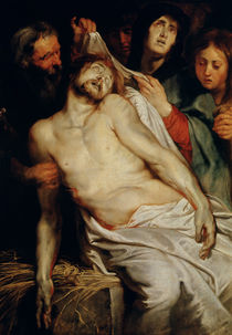 Triptych of Christ on the Straw von Peter Paul Rubens