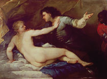 Lucretia and Tarquin by Luca Giordano