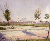 The Road to Gennevilliers, 1883 von Paul Signac