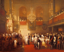 Wedding of Leopold I to Princess Louise of Orleans at Compiegne by Joseph Desire Court