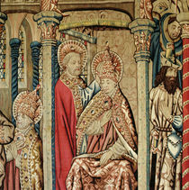 St. Peter Placing the Papal Tiara on the Head of St. Clement by French School