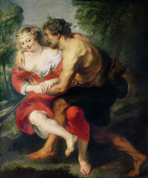 Scene of Love or, The Gallant Conversation by Peter Paul Rubens