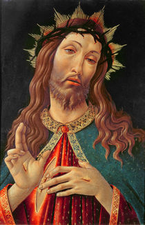 Ecce Homo, or The Redeemer by Sandro Botticelli