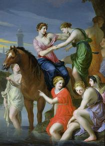 Clelia Crossing the Tiber von Jacques Stella