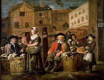 Market Scene von Jean Michelin