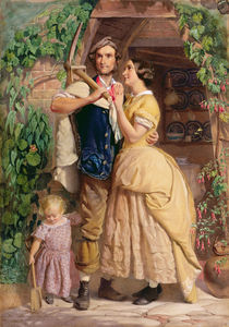 The Sinews of Old England, 1857 by George Elgar Hicks