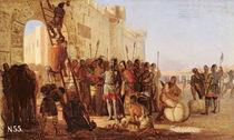 Grand Duke Oleg Nailing a Shield to the Gates of Tsargrad by Nikolai K. Bodarevski