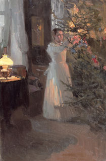 The Christmas Tree, 1910 von Alexei Mikhailovich Korin