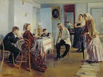 Hiring of a Maid, 1891-92 von Vladimir Egorovic Makovsky