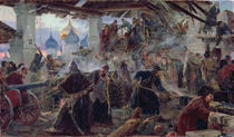 The Defence of the Trinity Sergius Cloister in Zagorsk by Sergei Dmitrievich Miloradovich