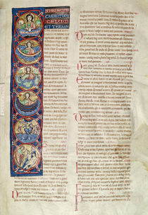 Ms 3 fol.4 The Six Days of the Creation by French School
