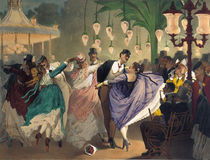 Waltz at the Bal Mabille von Philippe Jacques Linder
