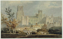 View of Ely Cathedral von Joseph Mallord William Turner