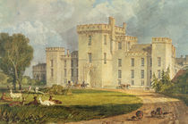 View of Hampton Court from the North-west von Joseph Mallord William Turner