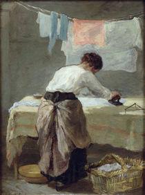 Woman Ironing von Armand-Desire Gautier