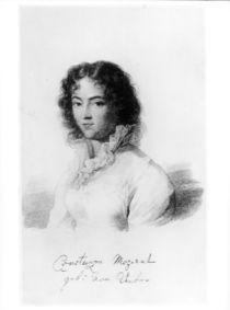 Portrait of Constanze Mozart 1828 von Austrian School