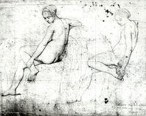 Study for the Turkish Bath von Jean Auguste Dominique Ingres