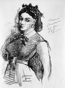 Jeanne Duval, 1865 von Charles Pierre Baudelaire