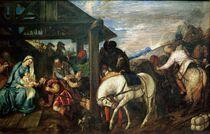 The Adoration of the Magi, c.1561 von Titian