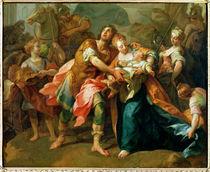 Hector Bidding Farewell to his Son and Andromache von Jean Bernard Restout