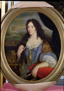 Portrait of an Unknown Learned Woman in Front of the Paris Observatory von French School