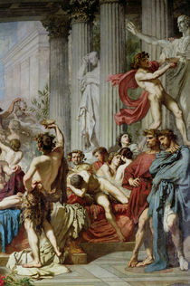The Romans of the Decadence von Thomas Couture