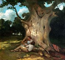 The Large Oak von Gustave Courbet