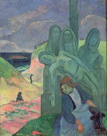 The Green Christ 1889 von Paul Gauguin