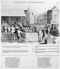 Acts and Violence of the Protestants by French School