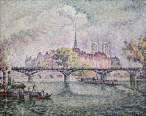 Ile de la Cite, Paris, 1912 by Paul Signac
