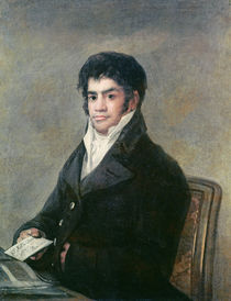 Portrait of Don Francisco del Mazo by Francisco Jose de Goya y Lucientes