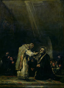 The Last Communion of St. Joseph Calasanz c.1819 by Francisco Jose de Goya y Lucientes