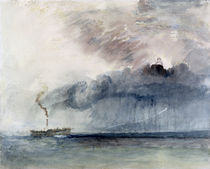 Steamboat in a Storm, c.1841 von Joseph Mallord William Turner